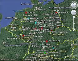 map of deutschland germany meteorite maps and impact craters worldwide germany meteorites