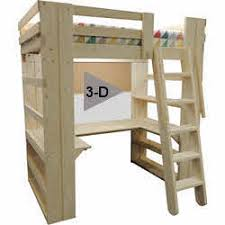 Loft Bunk Beds For Adults Loft Bed Bunk Beds For Home College Made In Usa