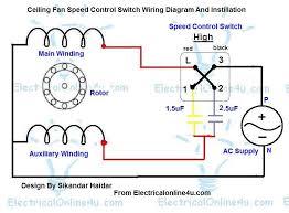 fan motor speed control switch ceiling fan speed control switch wiring diagram electrical online 4u