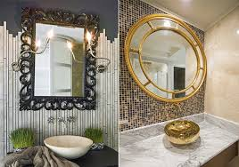 Decorative Mirrors For Bathrooms Selecting A Bathroom Vanity Mirror Decorative Mirrors For