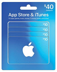 gift cards app app store itunes gift cards multipack of 4 10