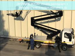 isoli pnt 280j lift mounted on iveco truck cherrypicker youtube