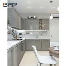 light grey kitchen cabinets china light grey high glossy kitchen cabinet china kitchen