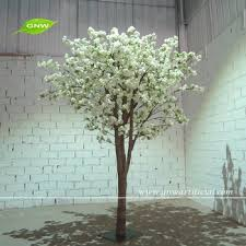 White Decorative Branches Gnw 8ft Artificial Cherry Blossom White Decorative Tree Branches