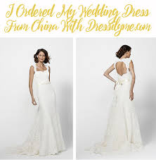 wedding dress online i ordered my wedding dress online dressilyme wedding dress review