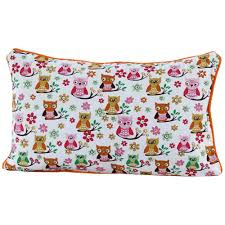 designer cushion cover 100 cotton fabric for home decor and kids