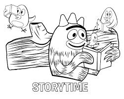 yo gabba gabba coloring fun get coloring pages