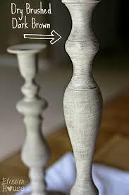diy distressed thrift store candlesticks bless u0027er house