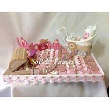 welcome baby arrangement vintage and classy look sobelle favors