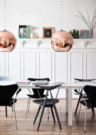 dixon copper decor pendant light modern home interior design