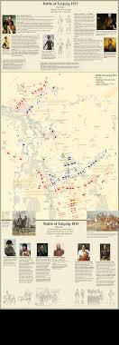 map of leipzig maps of battle of leipzig 1813