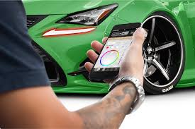 lexus rcf price puerto rico led drl boards profile pixel rgb rgbwa color changing led