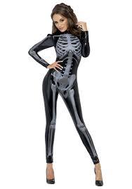 halloween tights women women u0027s x ray skeleton jumpsuit