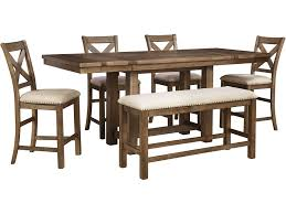signd1968 signature designs dining room six piece counter height