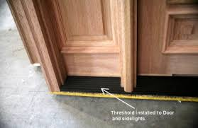 Door Thresholds For Exterior Doors Wooden Door Sills Thresholds Ecicw Cecif Entry Doors