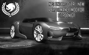citroen supercar nfsmods citroen gt by nfsu360 new performance mod script