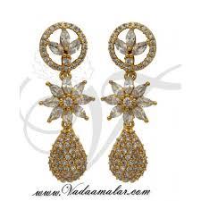 jhumka earrings online shopping american diamond jhumka earrings online shopping india