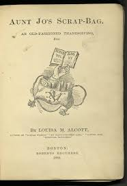 An Old Fashioned Thanksgiving Louisa May Alcott Open Book
