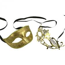 where can i buy a masquerade mask buy men and women gold masquerade masks set online