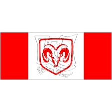 dodge ram decals canada dodge ram canadian flag decal sticker free shipping on ebid