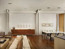 astonishing long sideboard with wood leather sofa