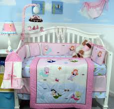 Monkey Bedding Set Little Mermaid Baby Blanket And Decor Pretty Little Mermaid Baby