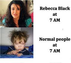 Rebecca Black Meme - rebecca black meme funny images jokes and more lols heaven