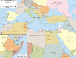 Map Of Middle East And Africa by Map Of Wwii Mediterranean Region 1940