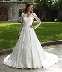 Wedding Dresses With Sleeves Uk Turmec Long Lace Sleeve Wedding Dresses Uk