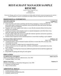 Examples Of Work Resumes by Hotel Manager Resume Example Resume Examples