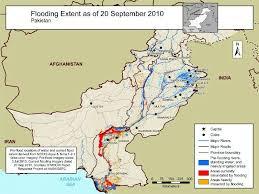 flood map area maps of pakistan flooding