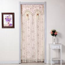 Double Panel Curtains Window Drapes Warm Home Designs Extra Long Light Beige Sheer