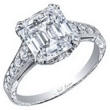 neil emerald cut engagement rings 20 best neil engagement rings images on