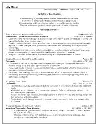 guidance counselor resume resume school counselor exle najmlaemah