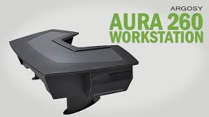 Omnirax Presto Studio Desk Black by Argosy Desk Used Alternative Views Click Image For Larger