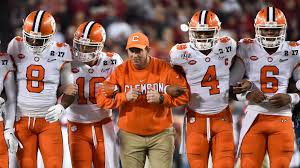 dabo swinney yelled and screamed and turned me into an nfl wide