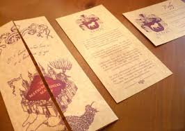 harry potter wedding invitations get to a wedding stationer noteworthy ink weddinglovely