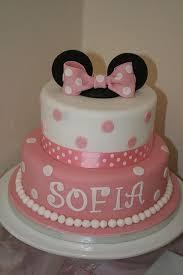 minnie mouse birthday cake so cute cake baby pinterest