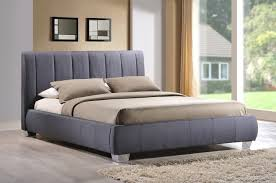 Small King Size Bed Frame by Time Living Braunston 5ft Kingsize Grey Fabric Bed Frame By Time
