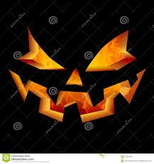 scary halloween pumpkin face carved jack o lantern laughing and