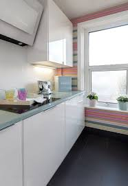 hot trend tasteful ways add stripes your kitchen colorful striped wall for the kitchen white design coral interiors