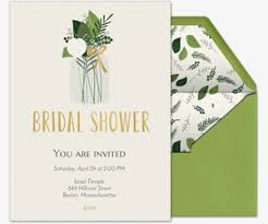 bridal invitation free online bridal shower invitations evite