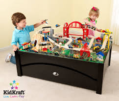 Play Table With Storage by Wooden Train Set Reviews