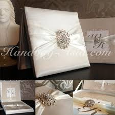 wedding invitations in a box high end hinged lid boxed wedding invitation with large