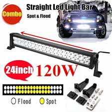 24 inch led light bar offroad 120w 24 inch led work light car light bar offroad driving l flood