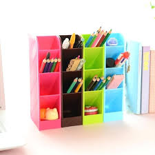 office desk organizer set color pencil organizer set candy color office desk organizer