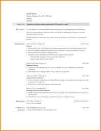 Resume For Restaurant Waitress Restaurant Resume Sample Hostess Bt Business Plan