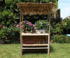 backyard tiki bar 20 steps with pictures