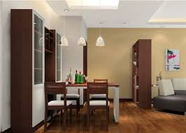 closet partition between dining room and living room 3d house