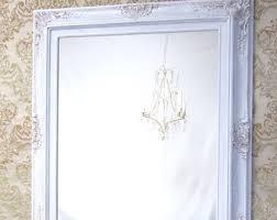 many sizes available white framed bathroom mirror framed